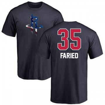Youth Kenneth Faried Houston Rockets Navy Name and Number Banner Wave T-Shirt